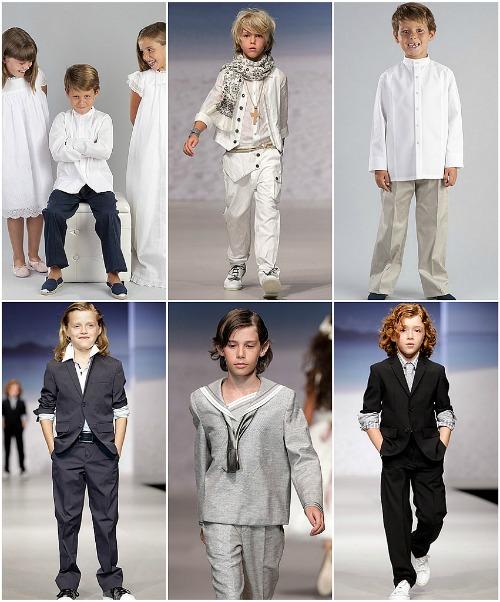 Vestidos de Primera Comunion de Niños